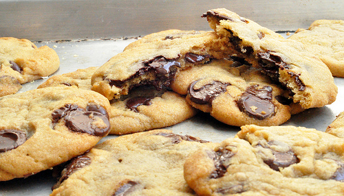 I love chocolate chip cookies