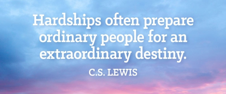 hardships prepare people